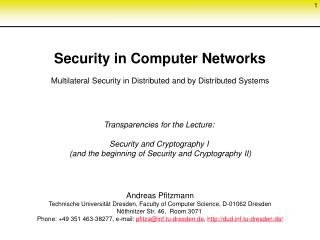 Field of Specialization: Security and Privacy