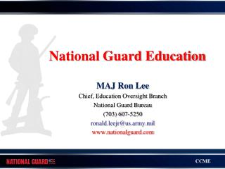National Guard Education