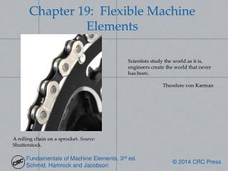 Chapter  19:  Flexible Machine Elements