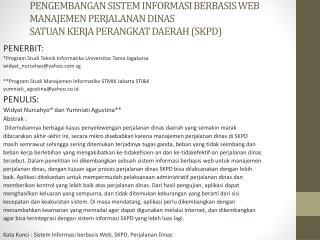 PENERBIT: *Program Studi Teknik Informatika Universitas Tama Jagakarsa