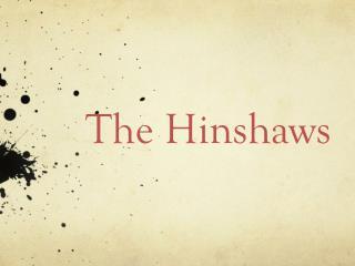 The Hinshaws