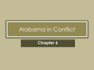 Alabama in Conflict