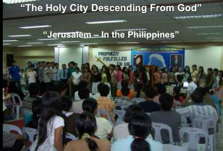 """The Holy City Descending From God"""