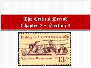 The Critical Period Chapter 2 ~ Section 3