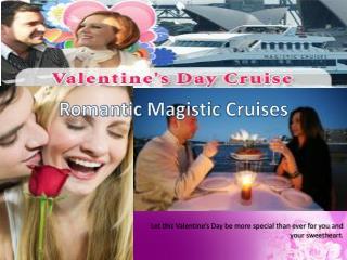 Valentine's Day Cruise Sydney Harbour