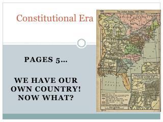 Constitutional Era