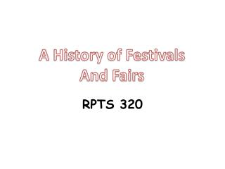 RPTS 320