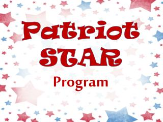Patriot STAR Program