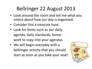 Bellringer  22 August 2013