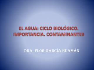 Dra. FLOR GARCÍA HUAMÁN