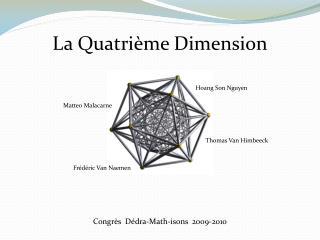 Congrès  Dédra-Math-isons  2009-2010