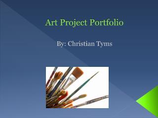 Art Project Portfolio