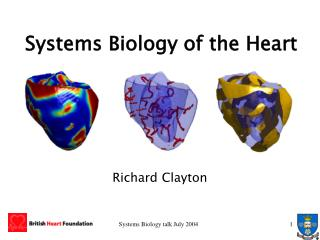 Systems Biology of the Heart