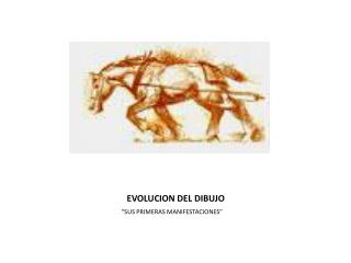 EVOLUCION DEL DIBUJO