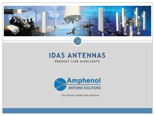 iDAS  Antennas  Product Line Highlights