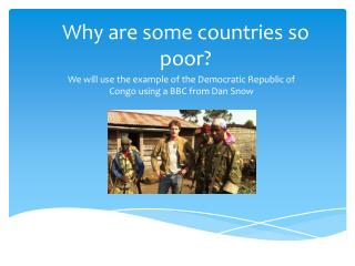 Why are some countries so poor?