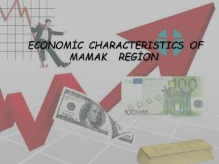 ECONOMİC  CHARACTERISTICS  OF MAMAK    REGİON
