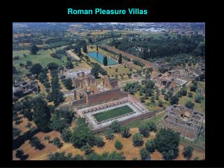 Roman Pleasure Villas