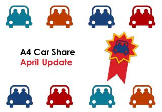 A4 Car Share April Update