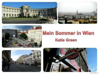 Mein Sommer in Wien