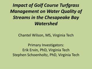 Why is water quality important??