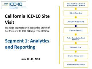 Segment 1: Analytics and Reporting