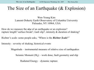 Earthquakes in the Stable Continental Regions: Earthquakes in ...