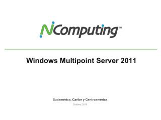 Windows  Multipoint  Server 2011