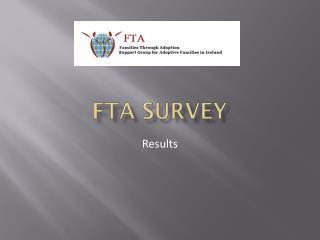 FTA Survey