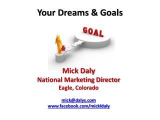 Your Dreams & Goals