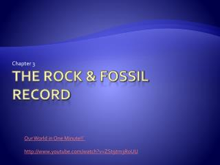 The Rock & Fossil Record