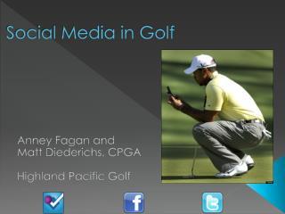 Social Media in Golf