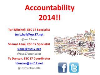Accountability  2014!!