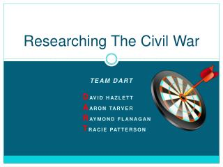 Researching The Civil War