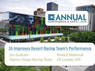 5S Improves Desert Racing Team's Performance