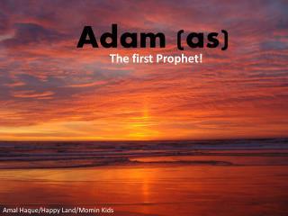 Adam (as)