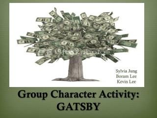 Group Character Activity: GATSBY