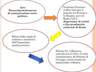 Arte Rinascimentale:mezzo di comunicazione socio-politico.
