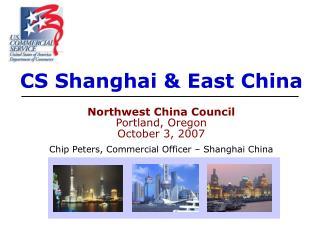 CS Shanghai  East China