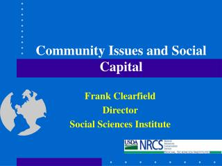 Community Issues and Social Capital