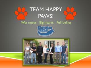 Team Happy Paws!