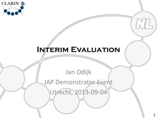 Interim Evaluation