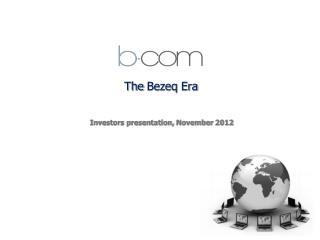 The  Bezeq  Era