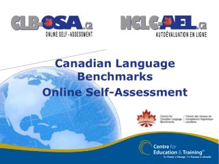 Canadian Language Benchmarks Online Self-Assessment