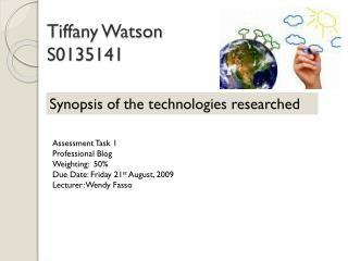 Tiffany Watson S0135141