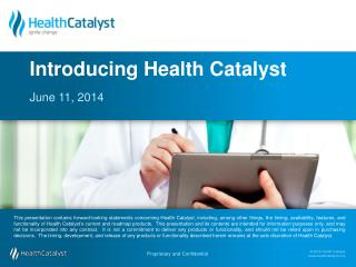 Introducing Health Catalyst