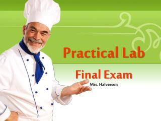 Practical Lab  Final Exam
