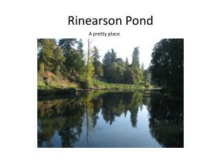 Rinearson  Pond