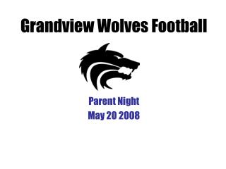 Grandview Wolves Football