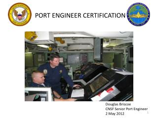 PORT ENGINEER CERTIFICATION